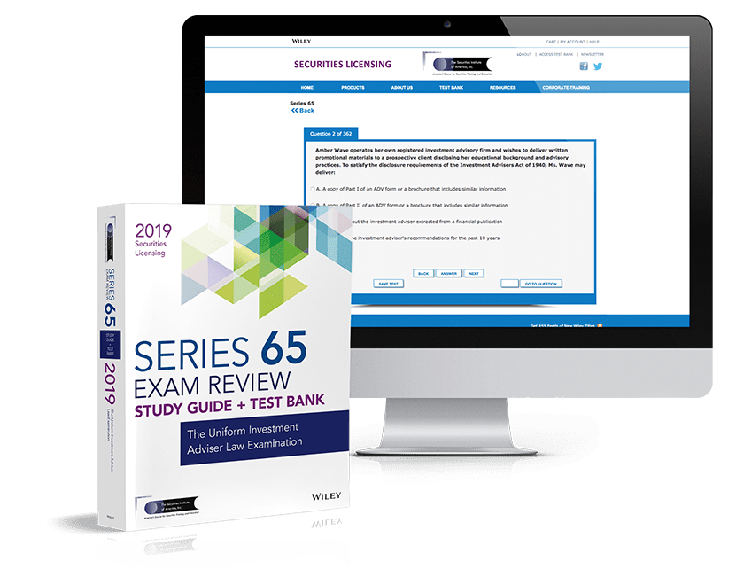 Series-65 Learning Products