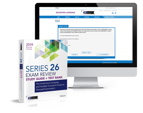Purchase the Series 26 Complete Self-Study Solution